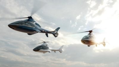 Hill Helicopters is building three prototypes of the HX50, and will perform the first flight of the type in 2022. Hill Helicopters Image