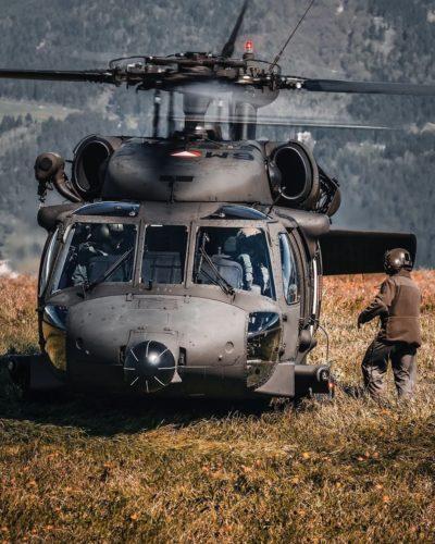 A Bundesheer Sikorsky S-70 Black Hawk helicopter. Photo submitted by Instagram user @robert_nwg using #verticalmag